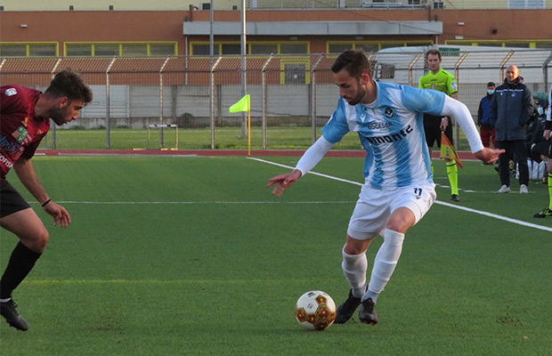 Simone Greselin Pontedera Giana 1-0