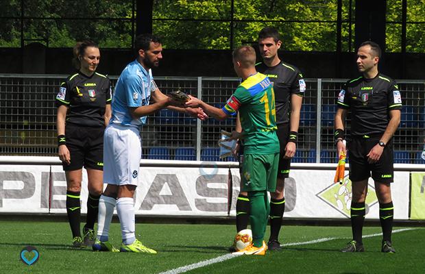 Perna e Villa Pergolettese Giana 0-0