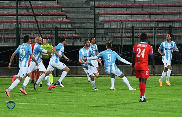 Simone Perico Giana Pro Patria 1-1