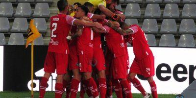 L'esultanza in Juventus U23 Giana 0-1