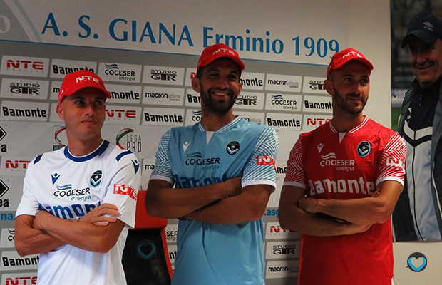 NTE nuovo sponsor Giana Erminio Gorgonzola
